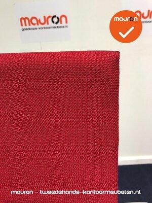Vergaderstoel - Ahrend - A350 - medium - rood stof - NIEUWSTAAT