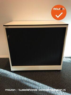 Roldeurkast - Ahrend - 74x80x45cm - wit