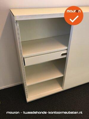 Schuifdeurkast - Ahrend - 118x240x45cm - Wit