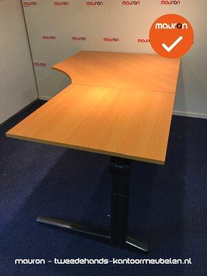 Ahrend hoekbureau - 200x120cm - Beuken - hout - rechts