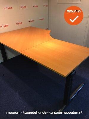Ahrend hoekbureau - 200x120cm - Beuken - hout - links - Essa