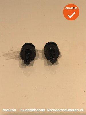 2 schroeven voor Ahrend 500 systeem - T20 - 4,5x10mm - volkern