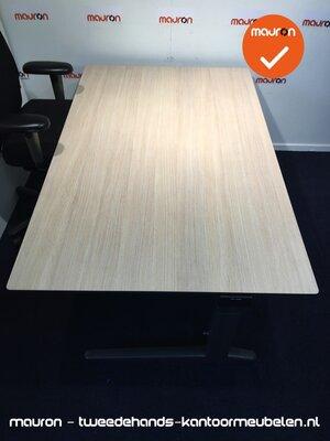 Ahrend vergadertafel - 160x100 cm - Grijs Eiken - volkern