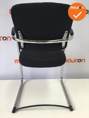Ahrend 4230 - nieuwe stoffering  - chroom frame