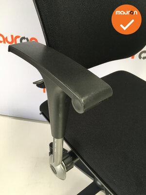 Bureaustoel - Ahrend 240 Centennial - nieuwe stoffering - zwart kunstof voetkruis