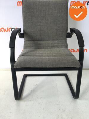 Ahrend 5526 - Zwart/Wit gemeleerde stof gebruikt