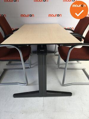 Ahrend vergadertafel - 180x80cm - Ahorn