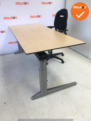 Ahrend bureau - 200x80cm - Ahorn - volkern - Essa - Kleur poot naar keuze