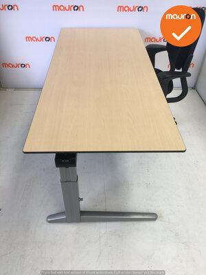 Ahrend bureau - 180x90cm - Ahorn - volkern -  Essa - Kleur poot naar keuze