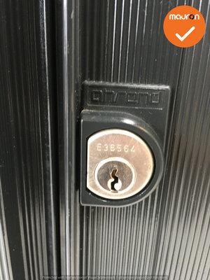 Roldeurkast - Ahrend - 144x120x45cm - zwart
