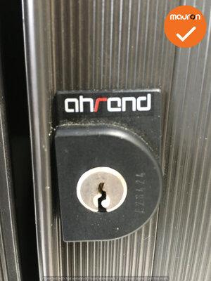 Roldeurkast - Ahrend - 144x120x45cm - antracietgrijs