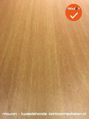 Ahrend bureau - 160x80cm - Beuken - hout - Essa - Kleur poot naar keuze