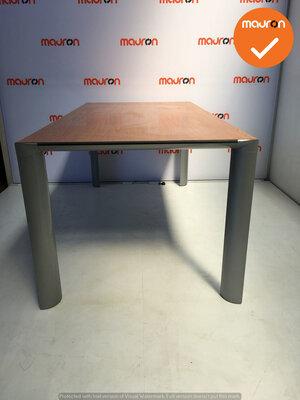 Ahrend 1030 vergadertafel - 160x80cm - rechthoekig - volkern - Beuken fineer