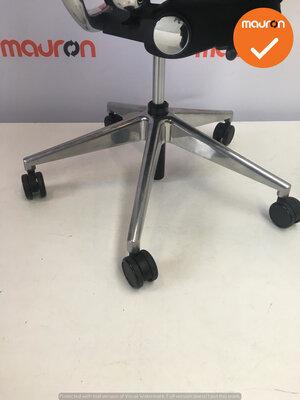 Rohde & Grahl - Xenium - bestaande stoffering - gepolijst aluminium voetkruis