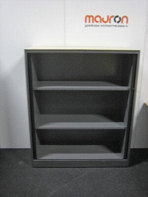 Legbord voor Ahrend 120cm brede roldeurkast - Zwart