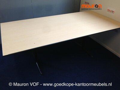 Ahrend vergader / conferentietafel - 200x100cm - Ahorn