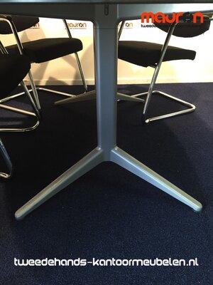 Ahrend 20 (Mehes) vergadertafel - 220x125cm - ovaal - volkern - Ahorn
