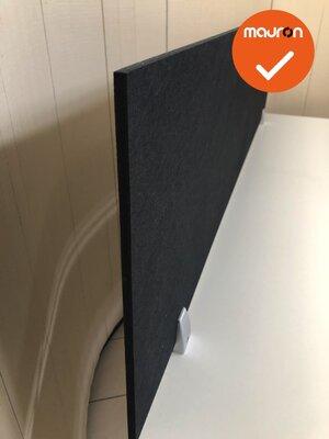 Akoestisch opzetscherm - 9 mm dik - 60-240cm lang - 40cm hoog - 18 kleuren