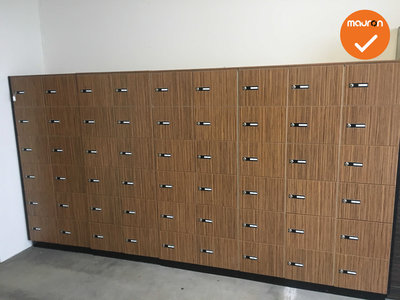 Lockerkast - 45 Persoons - Inclusief sleutels
