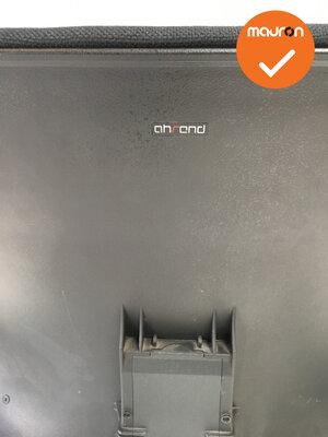 Ahrend 240 - Slede - Gepolijst aluminium  - Nieuwe stoffering in kleur naar keuze