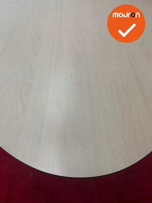 Ahrend vergadertafel - 240x120cm - ovaal - ahorn
