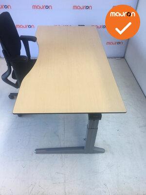Ahrend bureau -200x80/100cm rechts - Ahorn - Volkern - Essa - Kleur naar keuze
