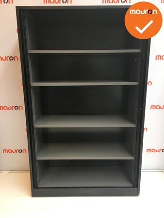 Roldeurkast - Ahrend - 195x120x45cm - Zwart