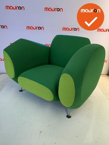 Moroso Hotel 21 chair green - turqoise