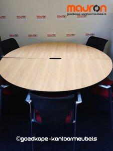 Verwonderend Ahrend Conferentie / vergadertafel - rond - 180cm - Beuken VG-72