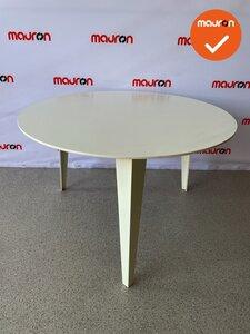 Ahrend 315 vergadertafel - rond - 120cm wit