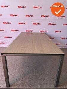Ahrend Four_two tafel 200x100cm - grijs eiken