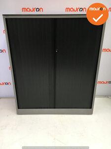 Roldeurkast - Ahrend - 144x120x45cm - zilvergrijs