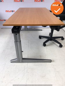 Ahrend bureau - 160x80cm - Beuken - hout
