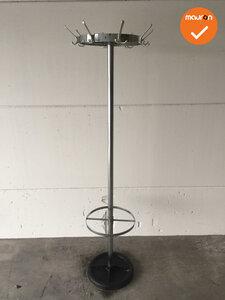 Staande kapstok - Van Esch - rond - Gepolijst aluminium