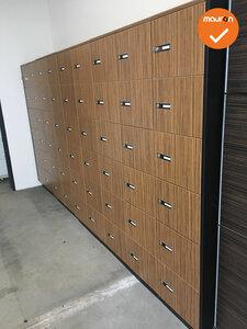Lockerkast met 54 lockers - schaalbaar