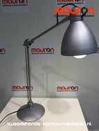 bureaulamp design - grijs
