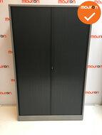 Ahrend roldeurkast - 195x120x45cm - zilvergrijs