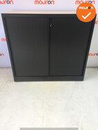 Roldeurkast - Ahrend - 110x120x45cm - Zwart