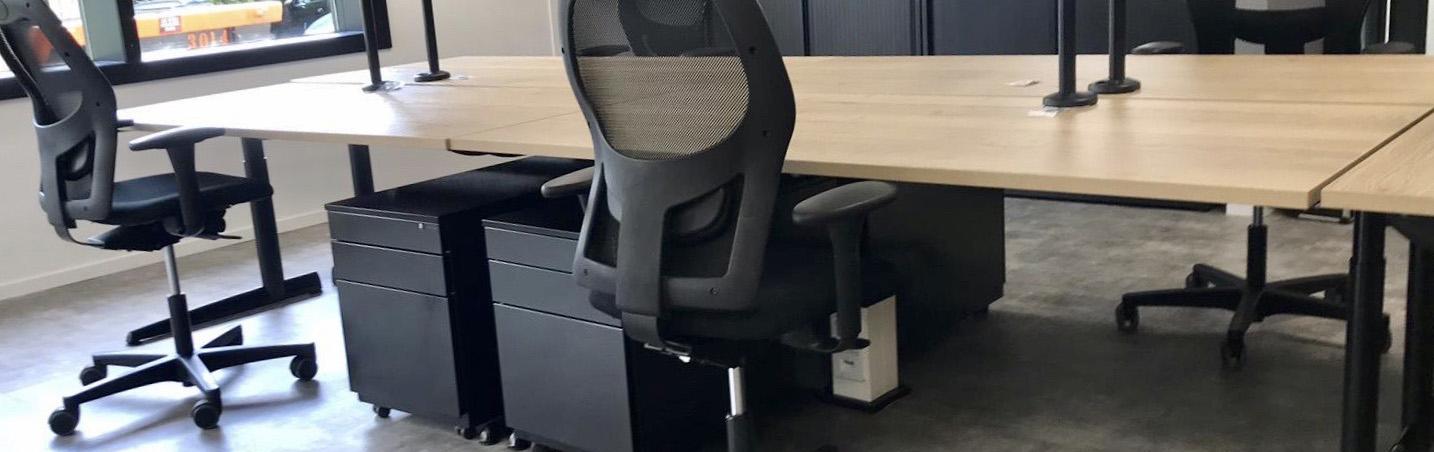 Complete inrichting van kantoren met refurbished Ahrend kantoormeubelen