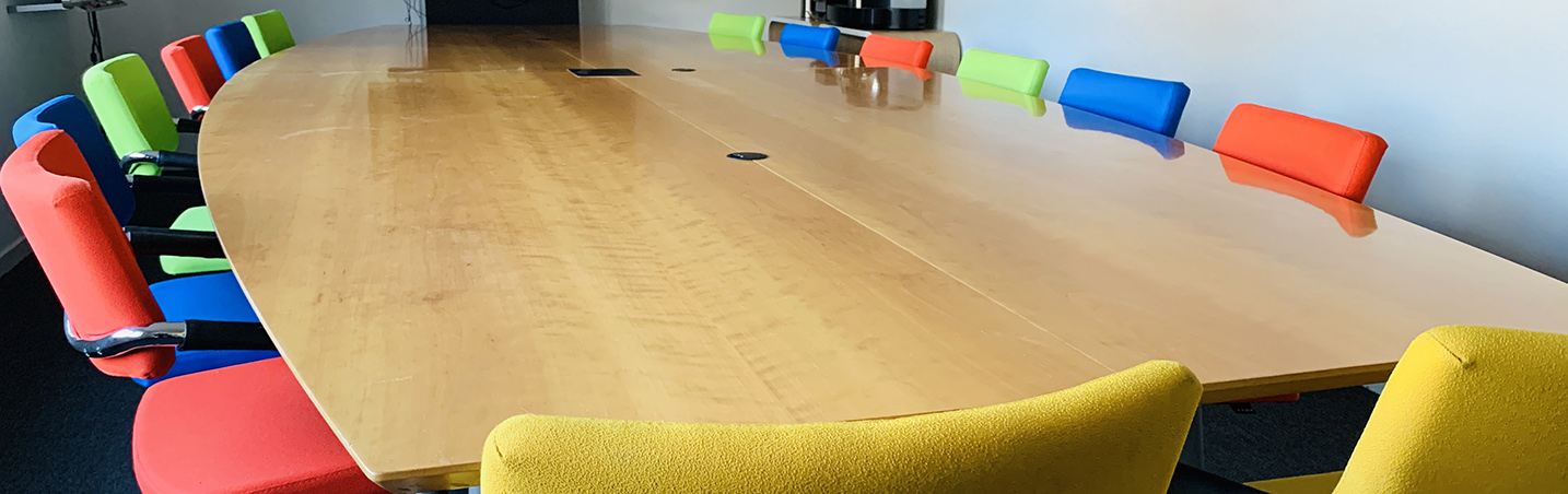 Inrichting van vergader- en conferentieruimtes